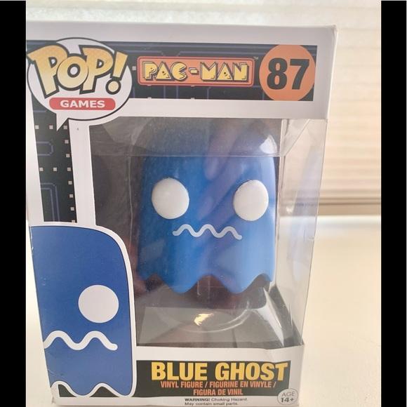 Funko POP Games Pac-Man #87 BLUE GHOST